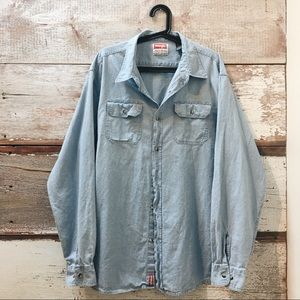 denim shirt // Wrangler